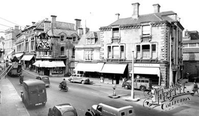 Photo of the Strand, Calne, 1957